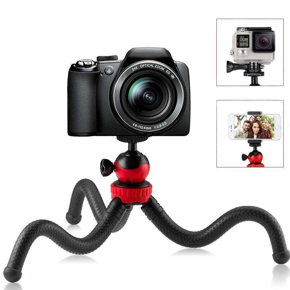 Flexible Mini Travel Tripod For Iphone Dslr Camera Gopro Android