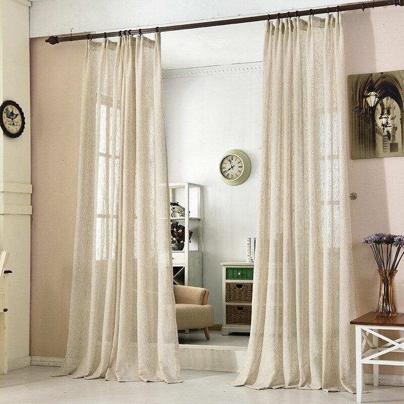 vendita calda giappone biancheria tulle tende per camera da letto finestra pura cucina tende per il