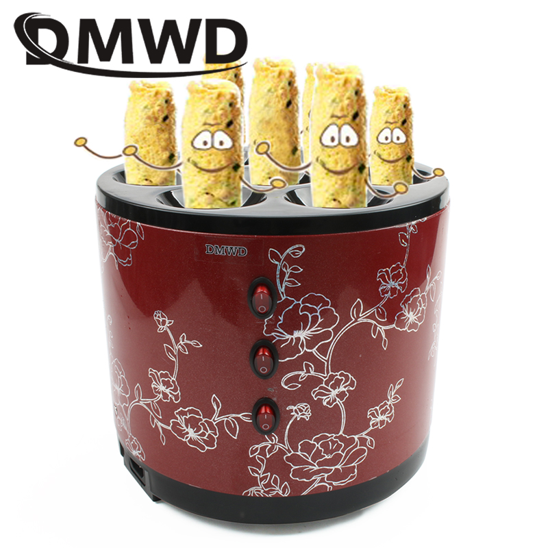 DMWD Electric Egg Roll Sausage Maker Commercial Hot Dog Eggs Roller Boiler Cup Baking Omelette Master Breakfast Cooking MachineDMWD Electric Egg Roll Sausage Maker Commercial Hot Dog Eggs Roller Boiler Cup Baking Omelette Master Breakfast Cooking Machine