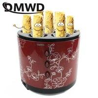 DMWD Electric Egg Roll Sausage Maker Commercial Hot Dog Eggs Roller Boiler Cup Baking Omelette Master Breakfast Cooking Machine