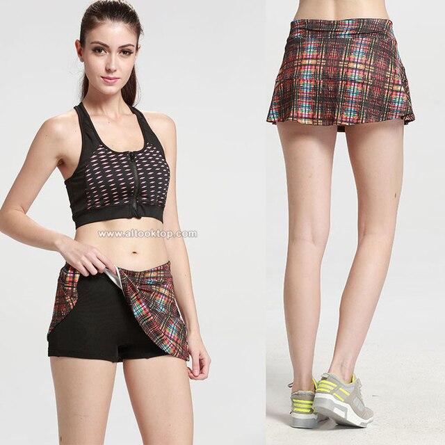 Phrase... Women short tennis skirt
