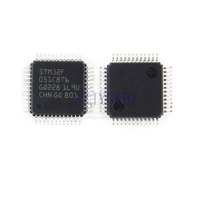 Stm32f051 Mcu 32-бит Stm32 Arm Cortex M0 Risc 64kb Flash 2,5 v/3,3 v 48 Lqfp Stm32f051c8t6