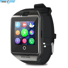 Time Owner TW-Q18 Smart Watch Camera TF SIM Card Phone Watch Sync SMS Facebook Twitter Bluetooth Smartwatch for Samsung Android(China)