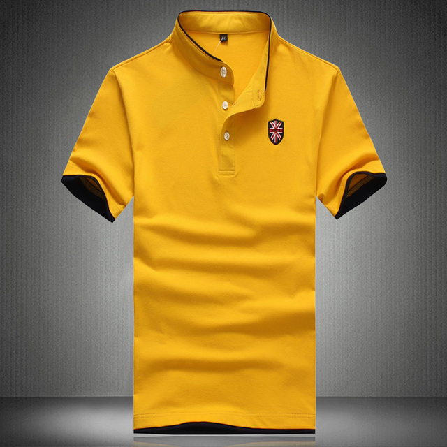 Camisetas 2016 New Fashion Men's Brand Cotton Casual Short Sleeve Polo Shirt Men Plus Size  3XL 4XL 5XL Design Tops Tees