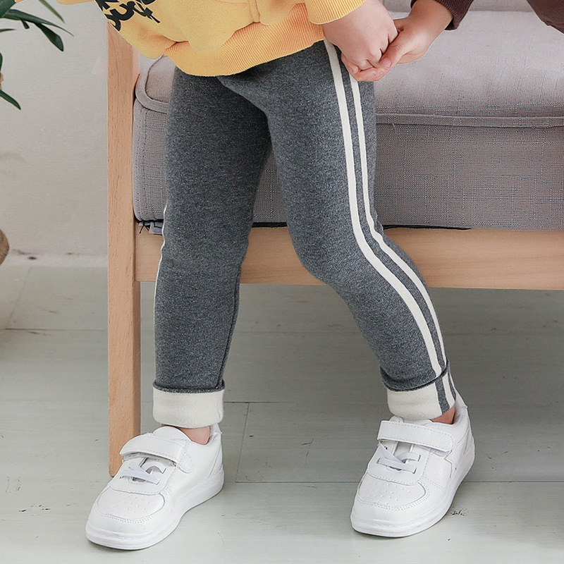 1-6Years Autumn Girl Sports Trousers Toddler Children Cotton Skinny Pants Kids Bottoms Track Pants for Girls Stretch Leggings