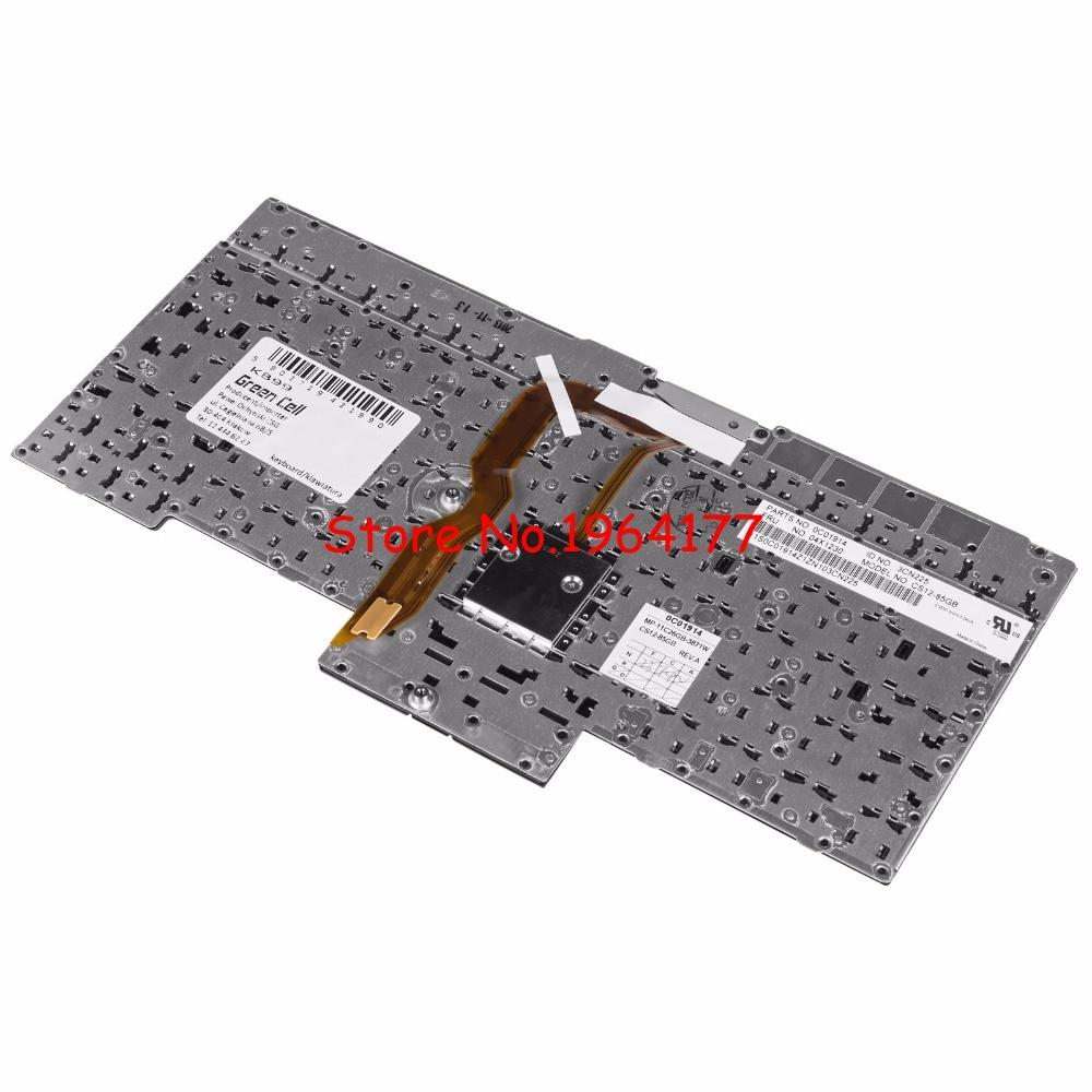 New Lenovo ThinkPad X230 T430 T430I T530 W530 UK Keyboard 04X1269 0C01952 Black