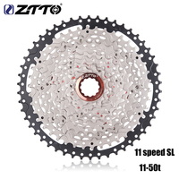 ZTTO MTB Mountain Bike 11 Speed SL Freewheel Cassette 11S 11 50T Steel Sprocket Bicycle Parts