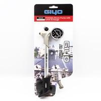 GIYO High pressure Air Shock Pump For Fork Rear Suspension Cycling Mini Hose Air Inflator Schrader Bike Bicycle Fork GS 02D