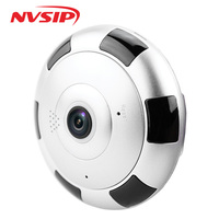 360 Degree Smart Panoramic IPC Wireless IP Fisheye Camera Support Two Way Audio P2P 960P HD
