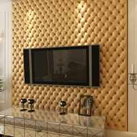 New European Imitation Leather Wallpaper 3d for Living Room Soft Wallpaper Papel De Parede Tv Background Wall Papers Home Decor