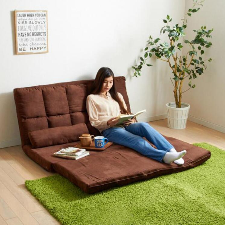 Japanese Style Modern Living Room Furniture Floor Seating Adjustable Foldable Upholstered Gaming Chaise Futon Sofa Lounge ChairJapanese Style Modern Living Room Furniture Floor Seating Adjustable Foldable Upholstered Gaming Chaise Futon Sofa Lounge Chair
