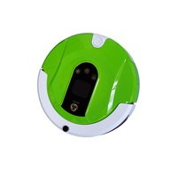 2200mA Vacuum Robot Cleaner Wifi Remote Control Timing Dry Wet Cloth 370ml 180ml Suction Sweep Auto