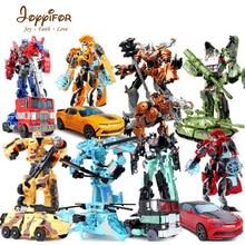 Robôs de Transformação Joyyifor Deformado 16 STYLEAction Figuras Clássicas Brinquedos Para Crianças Brinquedo Clássico Presente De Natal optimus prim