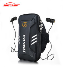 Running Bag  Waterproof Small Fitness Wallet Jogging Phone Holder Purse Armband Gym Arm Bag Sports Accessories 4-6 Inch