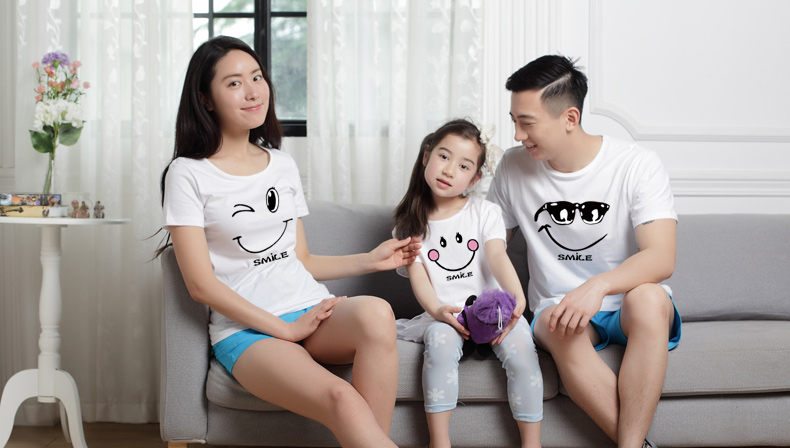 HTB1psuIRXXXXXcCaXXXq6xXFXXXc - family matching clothes Mother daughter dresses outfits cotton casual T-shirts family Look cotton mother father son clothing