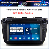 7 Inch AndroidCar DVD Player For KIA SORENTO 2013 2014 GPS Navigation Multi Touch Capacitive Screen