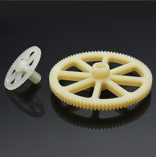 1set WLtoys V912 4ch Single Propeller <font><b>Rc</b></font> Helicopter Parts V912-03 Main Gear / <font><b>Wheel</b></font> <font><b>Set</b></font> + Tracking number image
