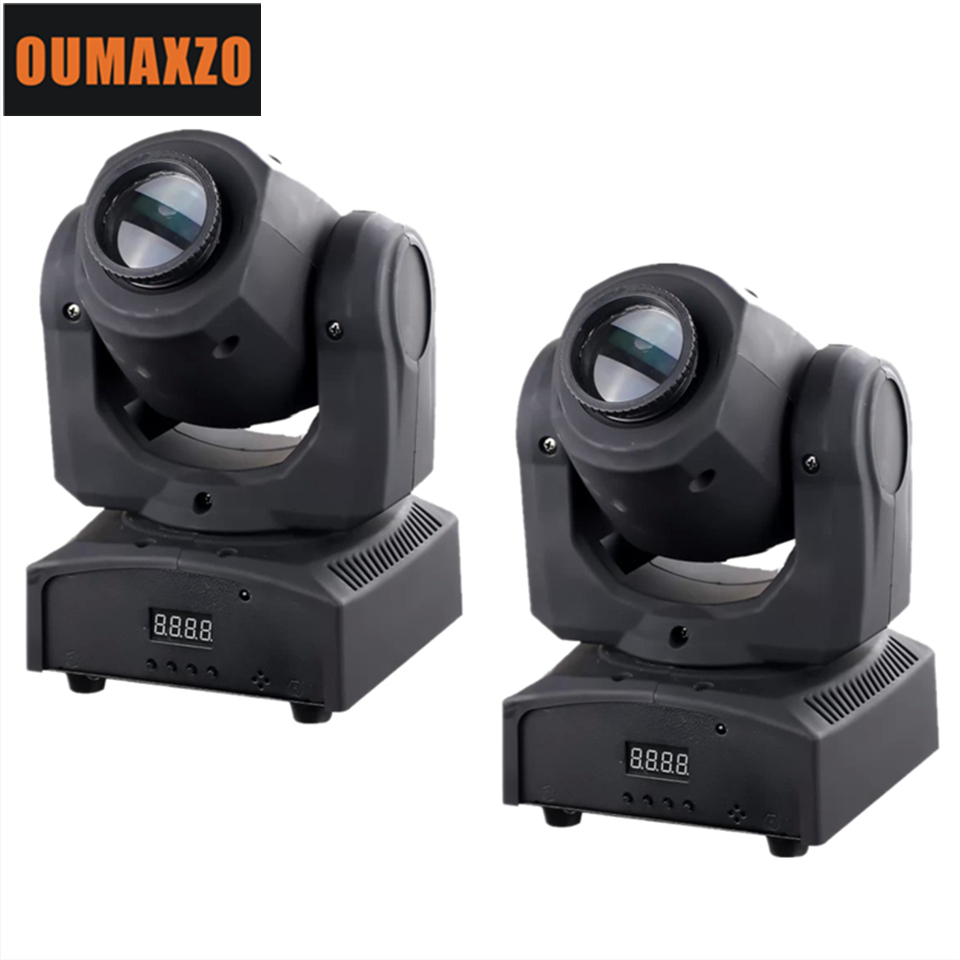 2pcs/lot LED Inno Pocket Spot Mini Moving Head Light dj stage lights 30W LED Spot Moving Head Light Stage CREE DJ Gobo Spot rasha factory price 30w mini led moving head spot gobo light with 9 11ch for stage event party 90 240v dmx stage moving light