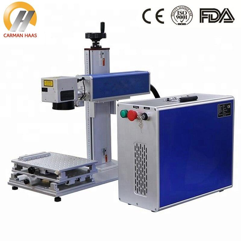 High Quality Split 30w Desktop Fiber Laser Marking Machine
