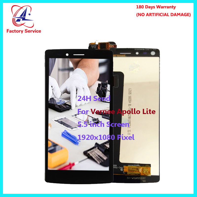 For Original Vernee Apollo Lite LCD Display+Touch Screen Screen Digitizer Assembly Replacement 5.5 inch 1920x1080P in StockFor Original Vernee Apollo Lite LCD Display+Touch Screen Screen Digitizer Assembly Replacement 5.5 inch 1920x1080P in Stock