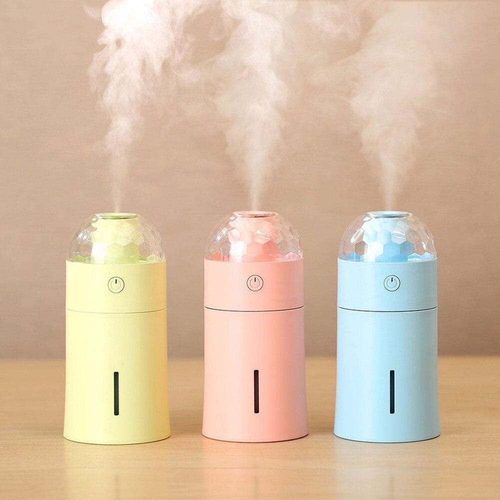 New USB Magic Colorful Light Humidifier