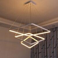 Modern Led Pendant Lights For Dining Room Aluminum 90 260V Indoor Hanging Lighting Pendant Lamp Kitchen