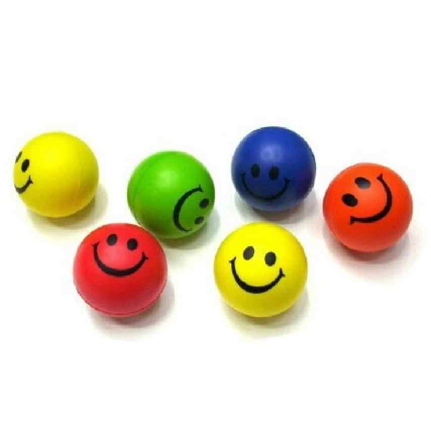 Più nuovo 1 Pz Pet Mini Neon del Fronte di Sorriso Relaxable Balls giocattolo Levert Dropship dig671