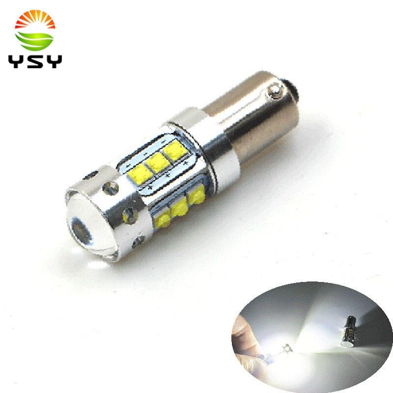 О ba9s 2шт BAY9S BAX9S Н6ВТ canbus автомобиля СИД 80W Световой индикатор фонаря заднего хода Bay9s 12В светодиодный индикатор нет ошибка Резервное копирование LED Белый