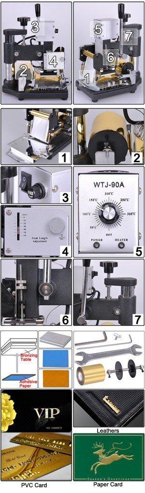 didmeninė mažiausia kaina -110V / 220V rankiniu būdu karšto - Įrankių komplektai - Nuotrauka 6