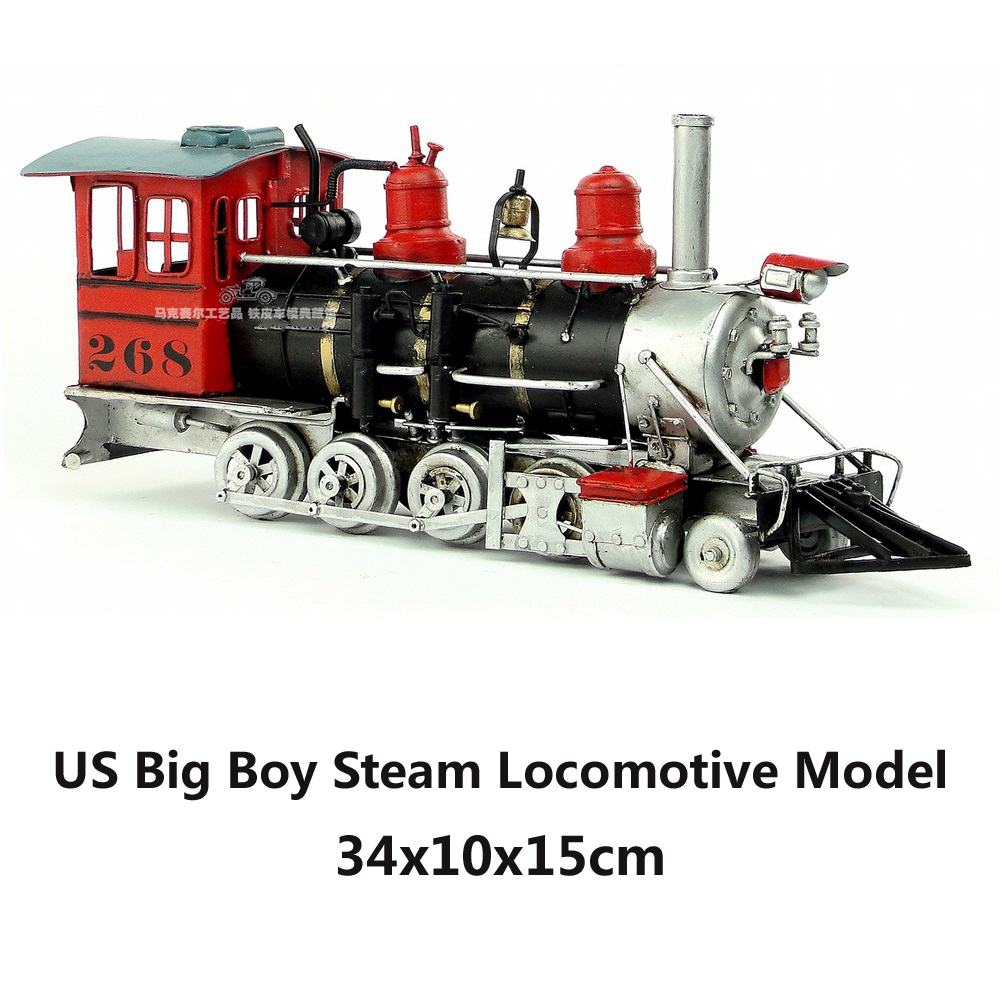 Big Boy Train Toys : Us big boy steam locomotive model handmade vintage metal