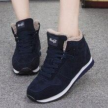 Women Shoes Warm Fur Winter Sneakers Plus Size 46 Vulcanize