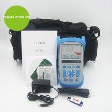 цена на 1310/1550nm Fiber Optic OTDR Reflectometer 28/26dB 1.5/8m Dead Zone, with Carrying Bag, FC/SC/ST Connectors ftth OTDR