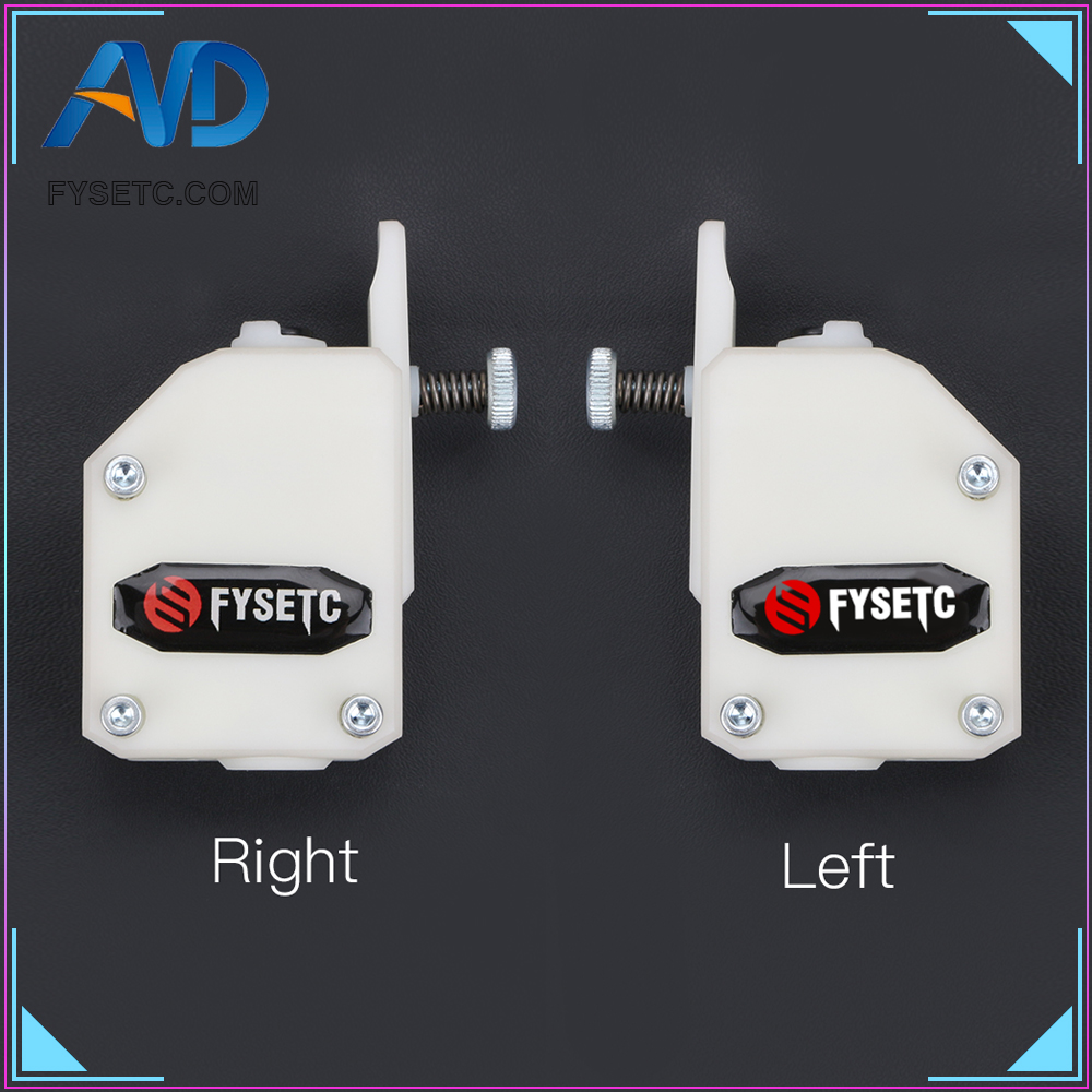 Esquerda Direita Espelho BMG Extrusora Para Wanhao Extrusora Bowden Extrusora Dual Drive Clonado Btech D9 Criatividade CR10 Ender 3 Anet e10