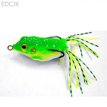 Fishing Lure Soft For Bait Lures Fish Plastic Silicone China Frog Artificial Baits Set Sea Swimbait Lot Topwater Isca 6CM 13G