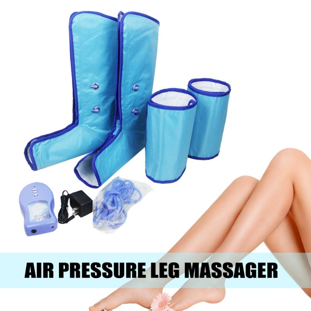 EU 220V Comfortable Air Compression Leg Wraps Breathable Healthcare Sauna Belt Relax Ankle Therapy MassagerEU 220V Comfortable Air Compression Leg Wraps Breathable Healthcare Sauna Belt Relax Ankle Therapy Massager