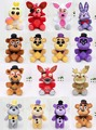 25cm - 30cm Five Nights At Freddy plush FNAF Bear Fox Golden Freddy Nightmare Fredbear foxy chica bonnie kids Plush Toys Doll