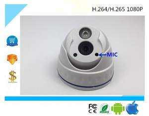 VOLDRELI 1080P IP Dome Camera Audio ONVIF CCTV Security