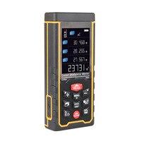 RZAS70Intelligent Color Screen Digital Laser Distance Meter Trena Laser Tape Measure Diastimeter Tester Tool Laser Rangefinder