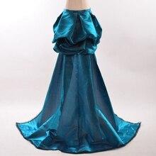 Burlesque Blu Gonna Overskirt