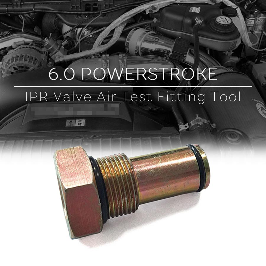 1 PC IPR Válvula de Ar Ferramenta de Teste Da Bomba de Óleo Para Motor Diesel 6.0L Teste Ferramenta de Montagem