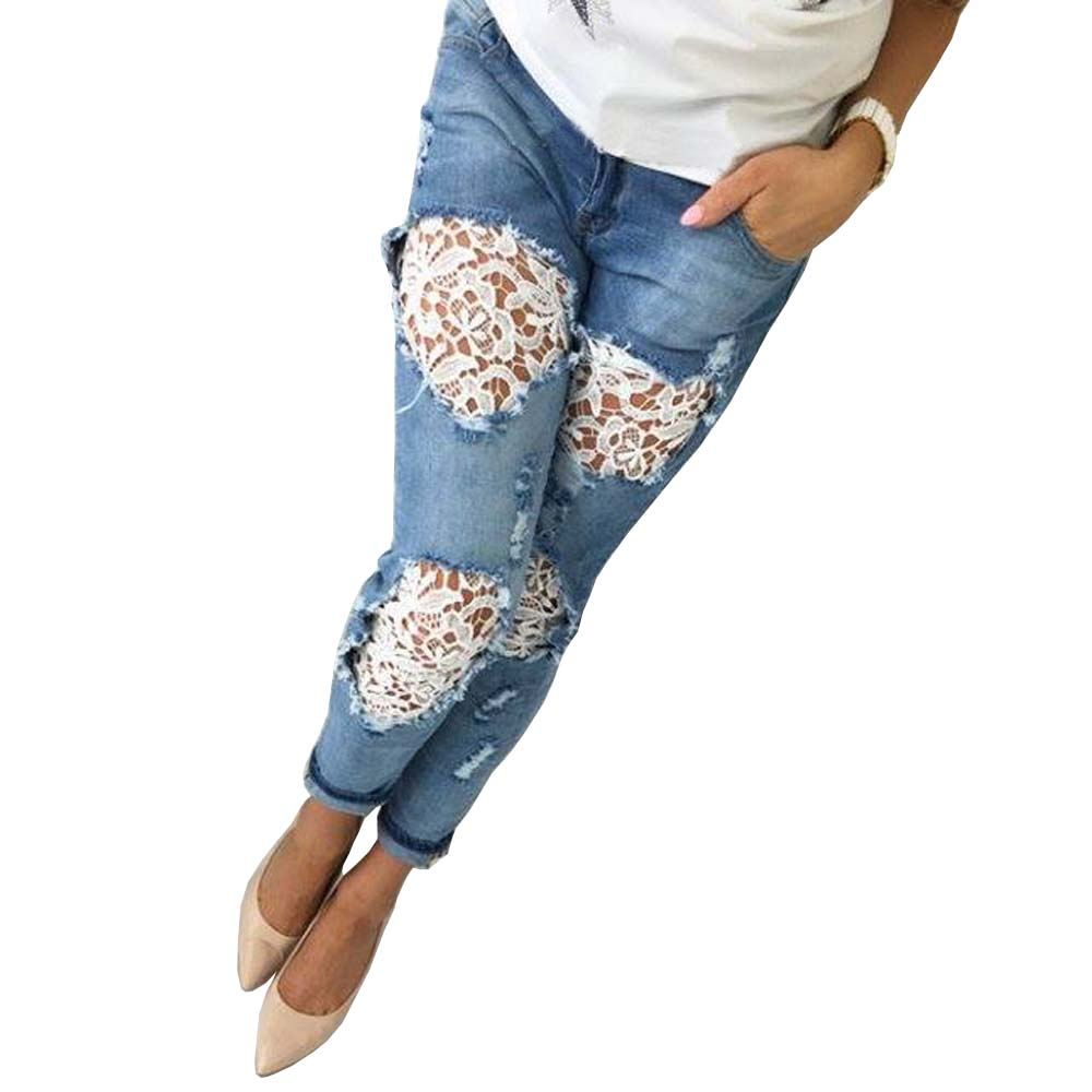 Popular Bleached Ripped Skinny Jeans-Buy Cheap Bleached Ripped ...