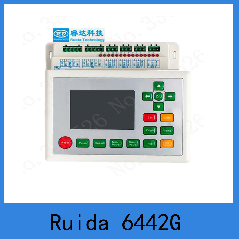 Ruida RDC6442G Co2 Laser DSP Controller for Laser Engraving and Cutting Machine RDC 6442G 6442S цена 2017
