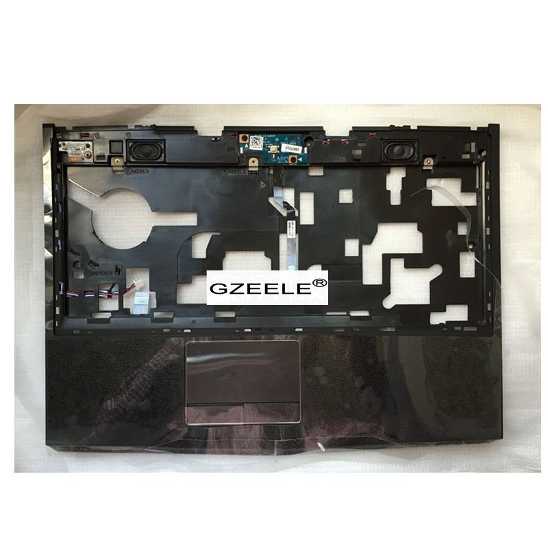 GZEELE new for Dell Alienware M14X R1 R2 14 Palmrest Cover touchpad upper case Assembly 3JV63