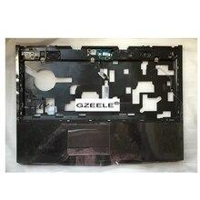 "GZEELE ใหม่สำหรับ Dell Alienware M14X R1 R2 14 ""Palmrest touchpad บนชุด 3JV63 R1W3W topcase คีย์บอร์ด BEZEL CASE"