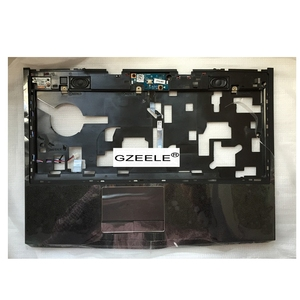 """Image 1 - GZEELE new for Dell Alienware M14X R1 R2 14"""" Palmrest Cover touchpad upper case Assembly 3JV63 R1W3W topcase keyboard bezel CASE"""