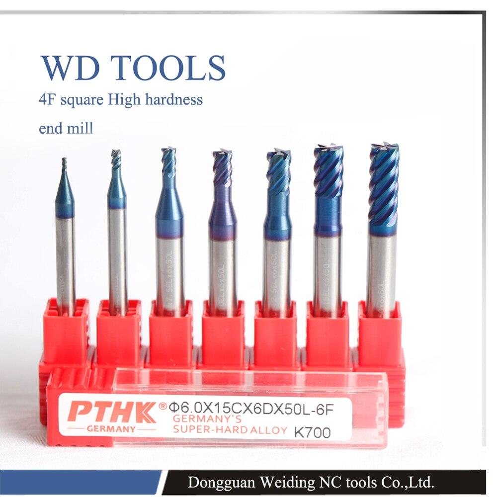 12x75l HRC70 Carbide 6 flöötsõikuriga freespink PTHK-ga - Tööpingid ja tarvikud - Foto 2