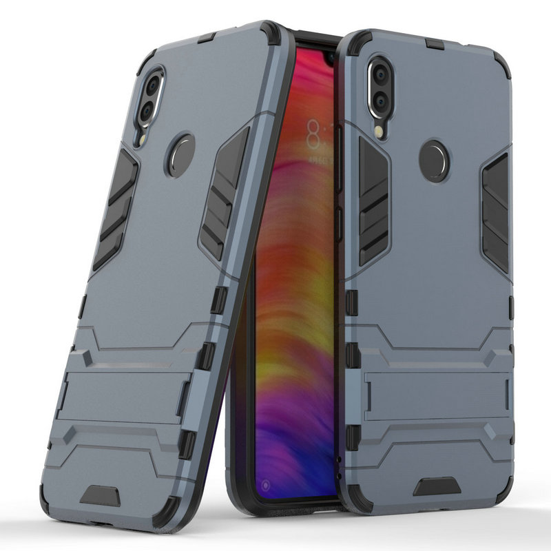 3D Combo Armor Case for <font><b>Xiaomi</b></font> <font><b>Redmi</b></font> <font><b>Note</b></font> <font><b>7</b></font> <font><b>Pro</b></font> Note7 for <font><b>Xiaomi</b></font> <font><b>Redmi</b></font> <font><b>7</b></font> 32GB 64GB <font><b>128GB</b></font> Shockproof Phone Back cover Case Fundas image