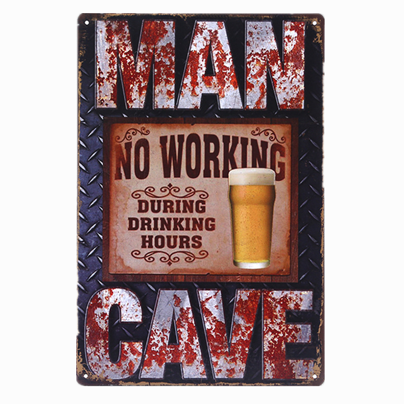 Metal Tin Sign thank you Decor Bar Pub Home Vintage Retro Poster Cafe ART