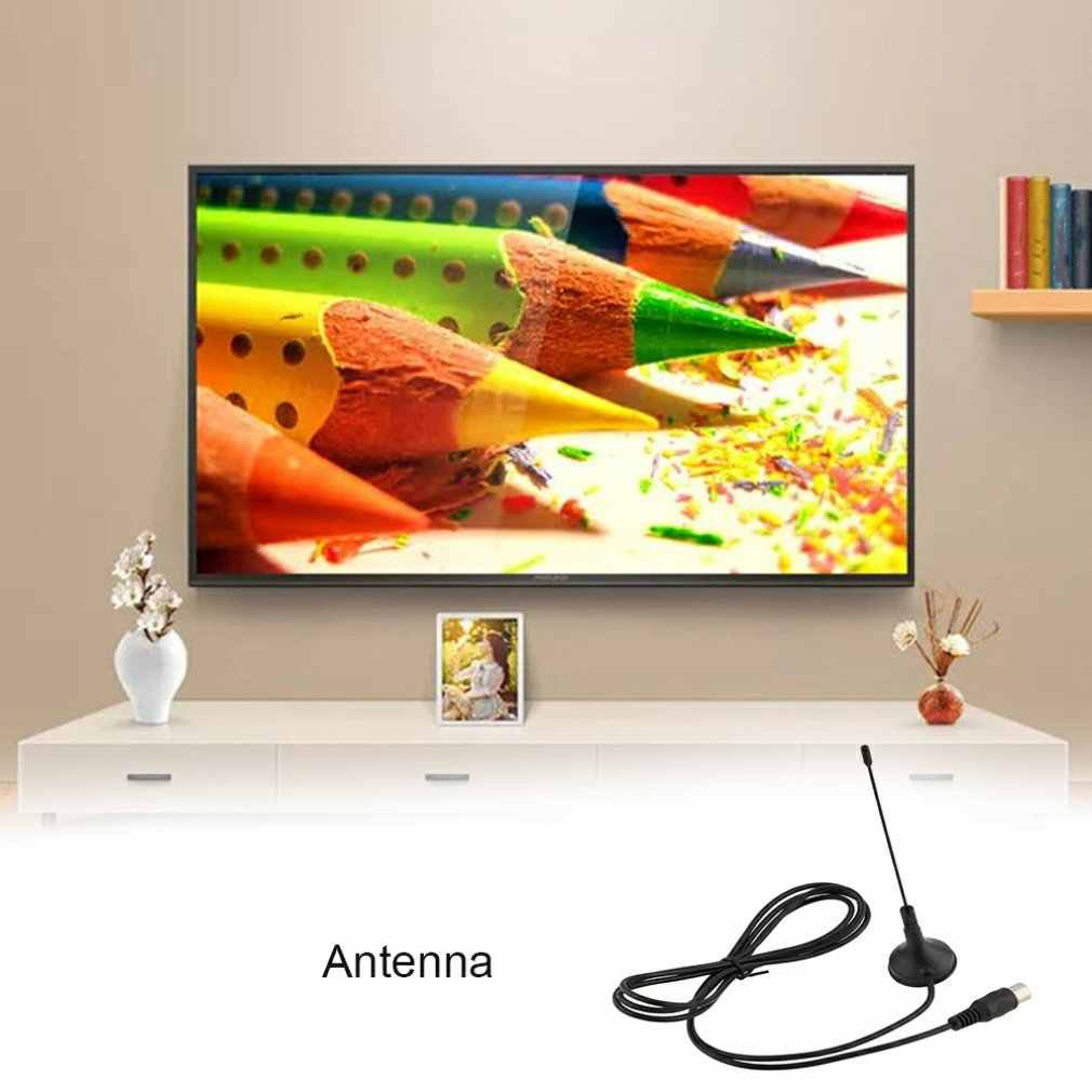 Magnetic DVB-T Antenna Suction Cup Antenna TV Receiving  Small Suction Cup