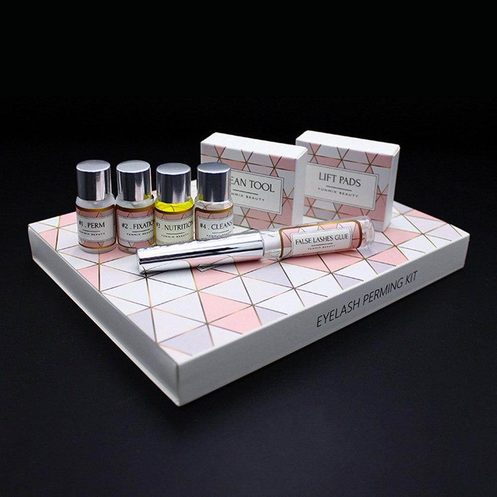 15pcs/1set Professional Lash Lift Kit Eyelash Perming Kit For Lashes Perm Set With Rods Glue Curling Beauty Make Up Tools